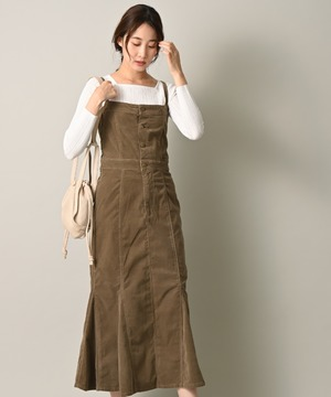 【Lee】PANEL SALOPETTE SKIRT