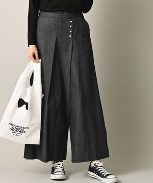 【Pearl button】ストレッチデニムパンツ