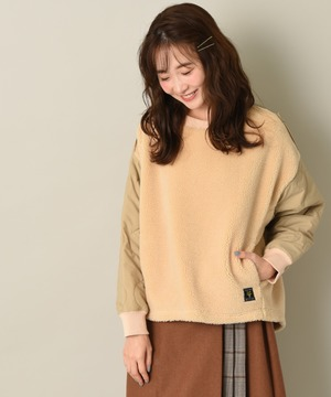 【Lee】KILTTING SLEEVE PULLOVER