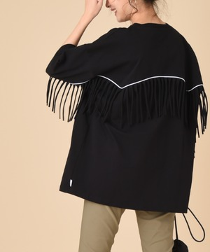 【SUPERTHANKS】WESTERN FRINGE BIC T-SHIRT