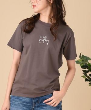 【SOMETHING】SHINY PRINT T-SHIRT 半袖