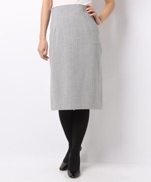 ストライプタイトスカート