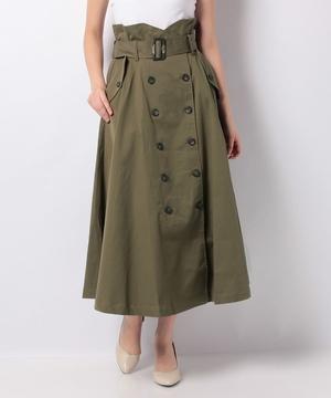 フレアートレンチスカート