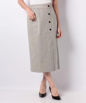 ヒッコリーストライプタイトスカート