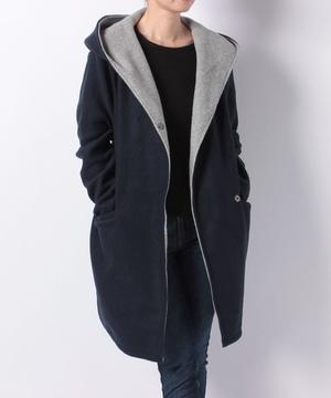 ダブルフェイスフードジャケット