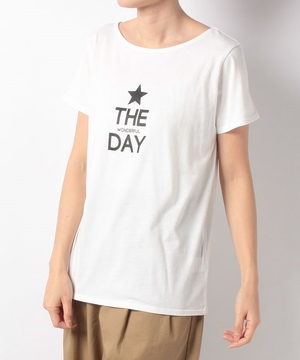 THE WONDERFUL DAYロゴTシャツ