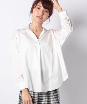 TCタイプライターBACKドロストシャツ