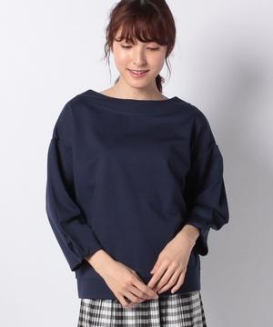 CNポンチボリューム袖カットソー