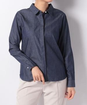 パール釦レギュラーシャツ