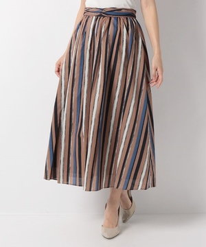 【O】マルチストライプスカート