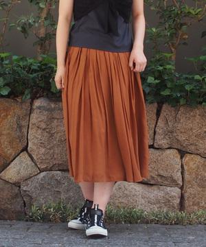 シルキーローンギャザースカート
