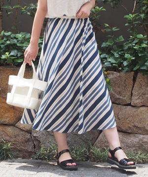 【セットアップ対応商品】カラーボーダースカート