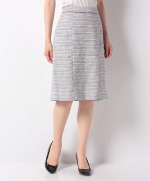 MIXツイードスカート