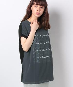 ヒョウ柄3DTシャツ