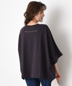 オーガニックコットンBACK刺繍BIG Tシャツ