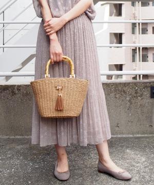 【セットアップ対応商品】シフォンスタープリントスカート