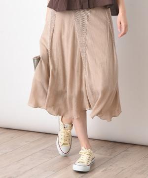 カギ針楊柳フレアスカート