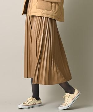 フェイレザープリーツスカート