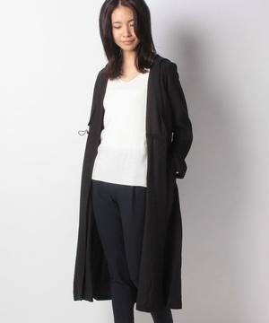 TR綾織フード付きコート