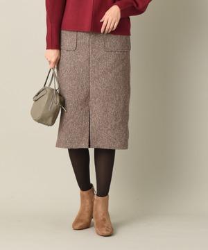 ネップツイードタイトスカート