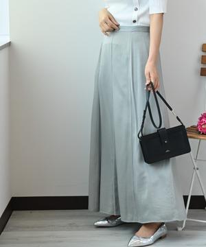 ポリコットンサテンスカート