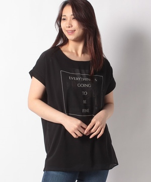 CITYプリント3DTシャツ