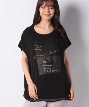 サーフプリント3DTシャツ