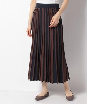 アンブレラフレアーニットスカート
