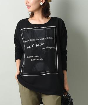 3D長袖Tシャツ