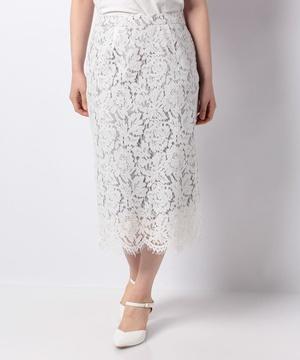 【セットアップ対応商品】【IW】コードレースタイトスカート