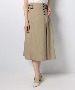 【MD】綿ブロードフレアスカート
