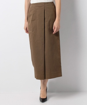 【LA】綿ツイルタイトスカート