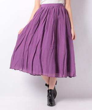【LA】シアーボイルプリーツスカート