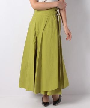 【anana】アシメラップロングスカート