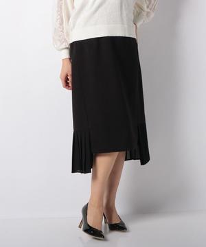 【RAW FUDGE】プリーツ切替デザインスカート
