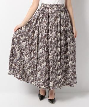 【Seadrake】アフリカンバティックプリントスカート