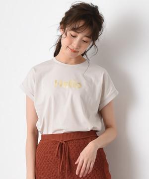 【anana】HelloロールアップTシャツ