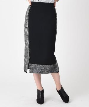 【RAW FUDGE】【セットアップ対応商品】チェック切替マルチWAY スカート
