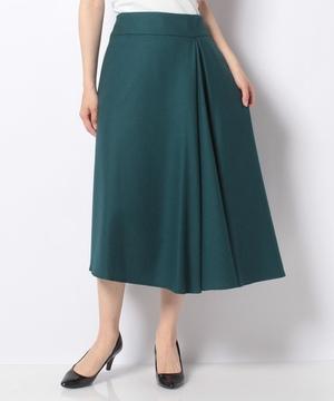 【RAW FUDGE】アシメタックウールスカート