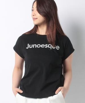 【anana】JunoesqueロゴロールアップTシャツ