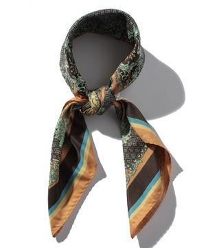 ヴィンテージ調柄スカーフ