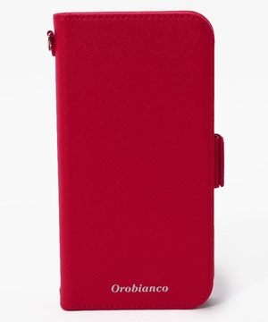 "サフィアーノ調"" PU Leather Book Type Case(iPhone 11)"