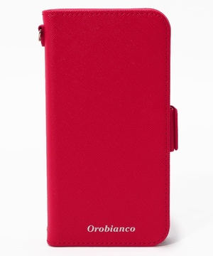 "サフィアーノ調"" PU Leather Book Type Case(iPhone 11 Pro)"
