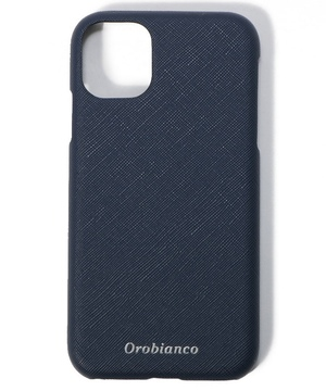 "サフィアーノ調"" PU Leather Back Case(iPhone 11)"