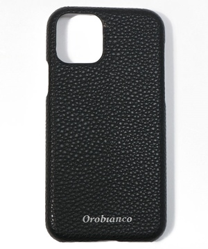 """""""シュリンク"""" PU Leather Back Case(iPhone 11Pro)"""