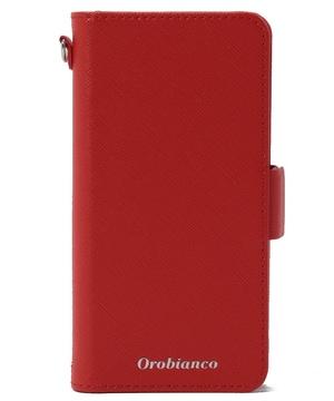 """""""サフィアーノ調""""PU Leather Book Type Case【iPhoneSE(第2世代)/8/7 ケース】"""