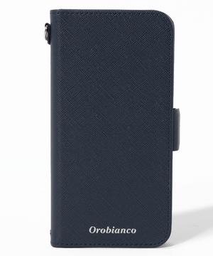 """""""サフィアーノ調"""" PU Leather Book Type Case(iPhone 12/12 Pro)"""