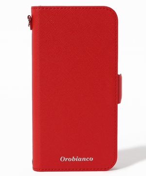 """サフィアーノ調"" PU Leather Book Type Case(iPhone 12/12 Pro)"