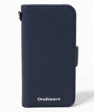 """シュリンク""PU Leather Book Type Case(iPhone 12 mini)"