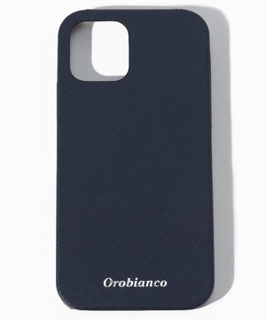 """""""サフィアーノ調""""PU Leather Back Case(iPhone 12/12 Pro)"""